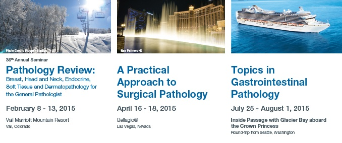 Pathology 2015 Meetings